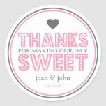 Thanks For Making Our Day Sweet (Pink / Grey)
