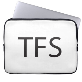 Thanks For Sharing -or- Three Finger Salute ai Laptop Computer Sleeve