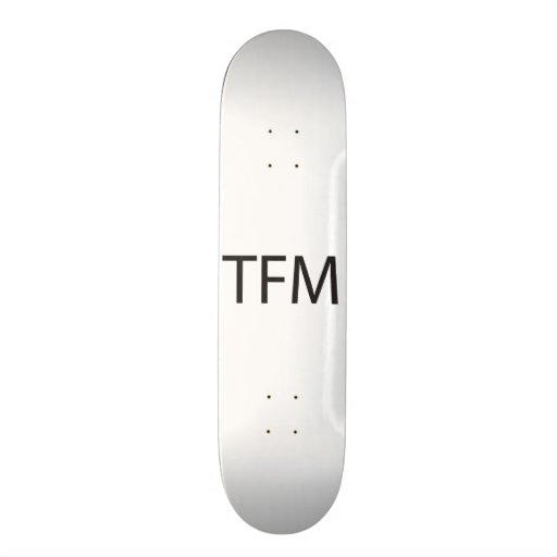 Thanks From Me.ai Skateboard Decks