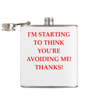 THANKS HIP FLASK