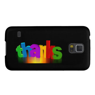 Thanks Rainbow Peace Love Party Destiny Digital Galaxy S5 Covers