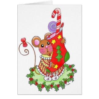Thanks Santa Greeting Card