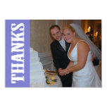 Thanks Shoot Out Thank You Notecard (Plum Purple)