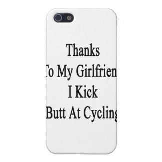 Thanks To My Girlfriend I Kick Butt At Cycling iPhone 5/5S Cover
