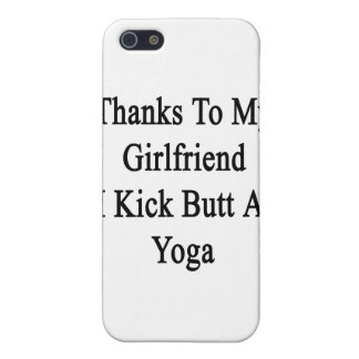 Thanks To My Girlfriend I Kick Butt At Yoga iPhone 5/5S Cases