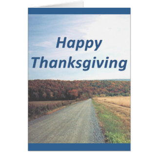 Thanks to the Father Thanksgiving Colossians 3:17 Greeting Card