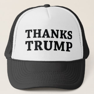 Thanks Trump Trucker Hat