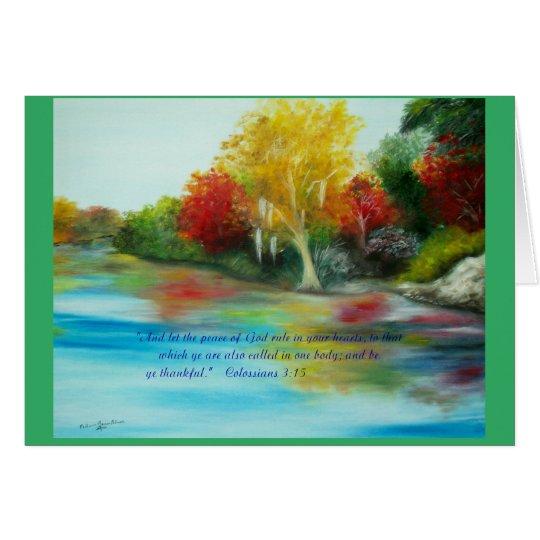 Thanksgiving Art Card