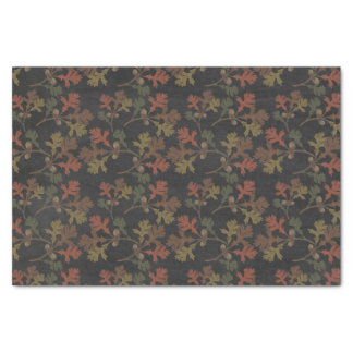 Thanksgiving Autumn Chalkboard Pattern Tissue Paper