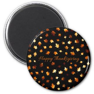 Thanksgiving Autumn Leaves Magnet