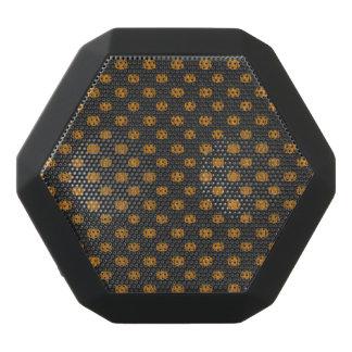Thanksgiving Autumn Pumpkin Pattern Black Bluetooth Speaker