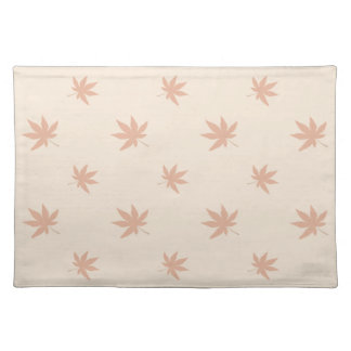 Thanksgiving Autumn Rustic Leaves Placemat