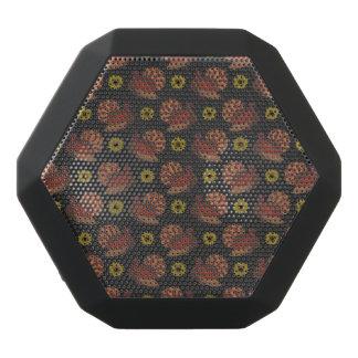 Thanksgiving Autumn Turkey Chalkboard Pattern Black Bluetooth Speaker
