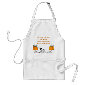 THANKSGIVING BABY SHOWER GIFT IDEAS STANDARD APRON