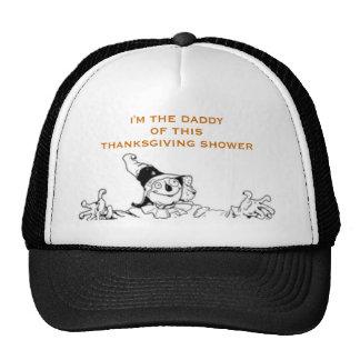 THANKSGIVING BABY SHOWER GIFT IDEAS TRUCKER HAT