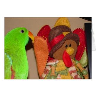 Thanksgiving Birds Card