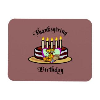 Thanksgiving Birthday Magnet