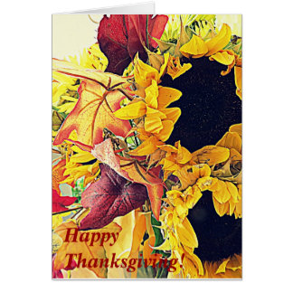 Thanksgiving Blessing Card