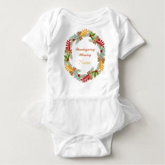 Thanksgiving Blessing Custom Baby Tutu Bodysuit