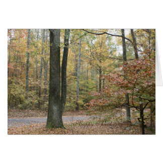 Thanksgiving blessing to you and praise to God Greeting Card