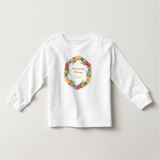 Thanksgiving Blessing Toddler Long Sleeve T-Shirt