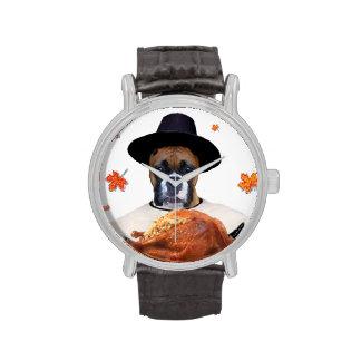 Thanksgiving Boxer dog Watch