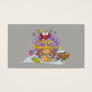 Thanksgiving Business Card