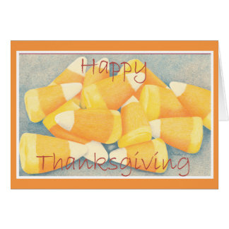 Thanksgiving Candy Corn Card