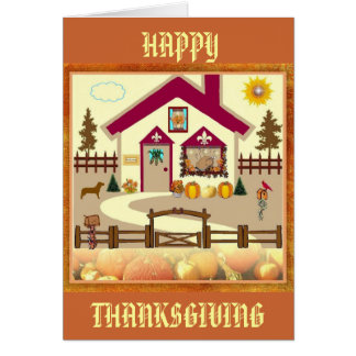Thanksgiving card for anyone