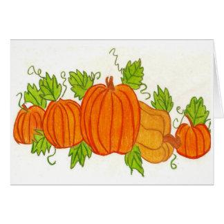 Thanksgiving Cartes De Vœux