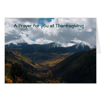 Thanksgiving Carte De Vœux