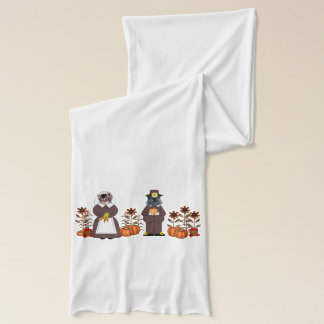 Thanksgiving Cats Scarf