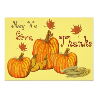 Thanksgiving Celebration Card