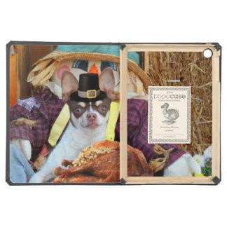 Thanksgiving Chihuahua dog Case For iPad Air