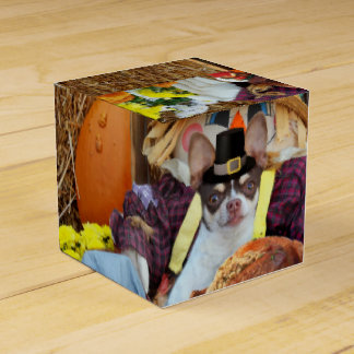 Thanksgiving Chihuahua dog Favor Box