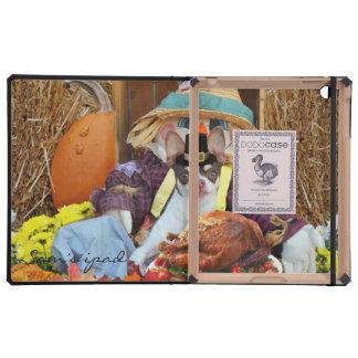 Thanksgiving Chihuahua dog iPad Covers