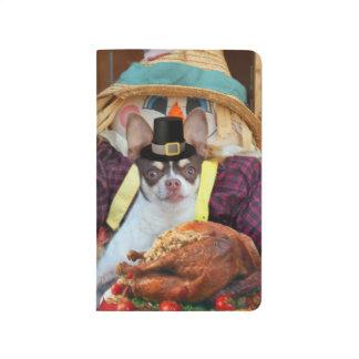 Thanksgiving Chihuahua dog Journal