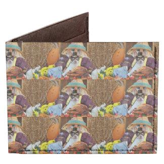 Thanksgiving chihuahua dog tyvek® billfold wallet