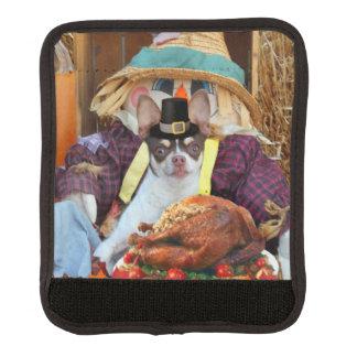 Thanksgiving chihuahua dog handle wrap