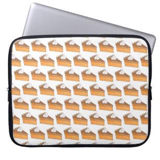 Thanksgiving Christmas Holiday Sweet Potato Pie Laptop Sleeve