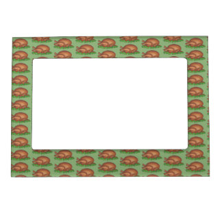 Thanksgiving Christmas Holiday Turkey Day Dinner Magnetic Picture Frame