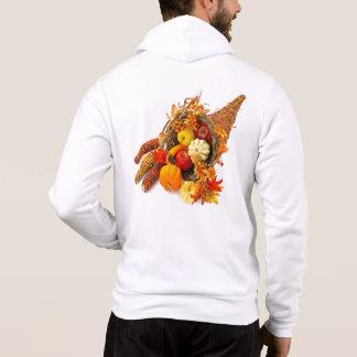 Thanksgiving Cornucopia Zip Hoodie