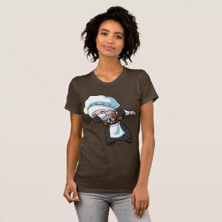 Thanksgiving Dabbing Pilgrim Girl Dab T-Shirt