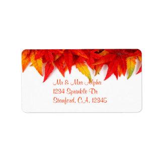 Thanksgiving Day Label