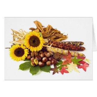 Thanksgiving Day Wedding Card