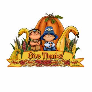 Thanksgiving Decor - Give Thanks Photo Cutout