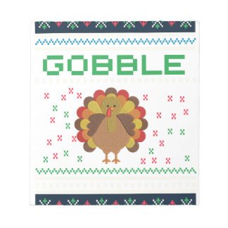 Thanksgiving design notepad
