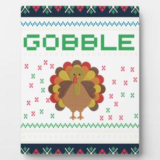 Thanksgiving design plaque