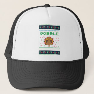 Thanksgiving design trucker hat