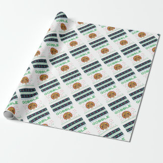 Thanksgiving design wrapping paper